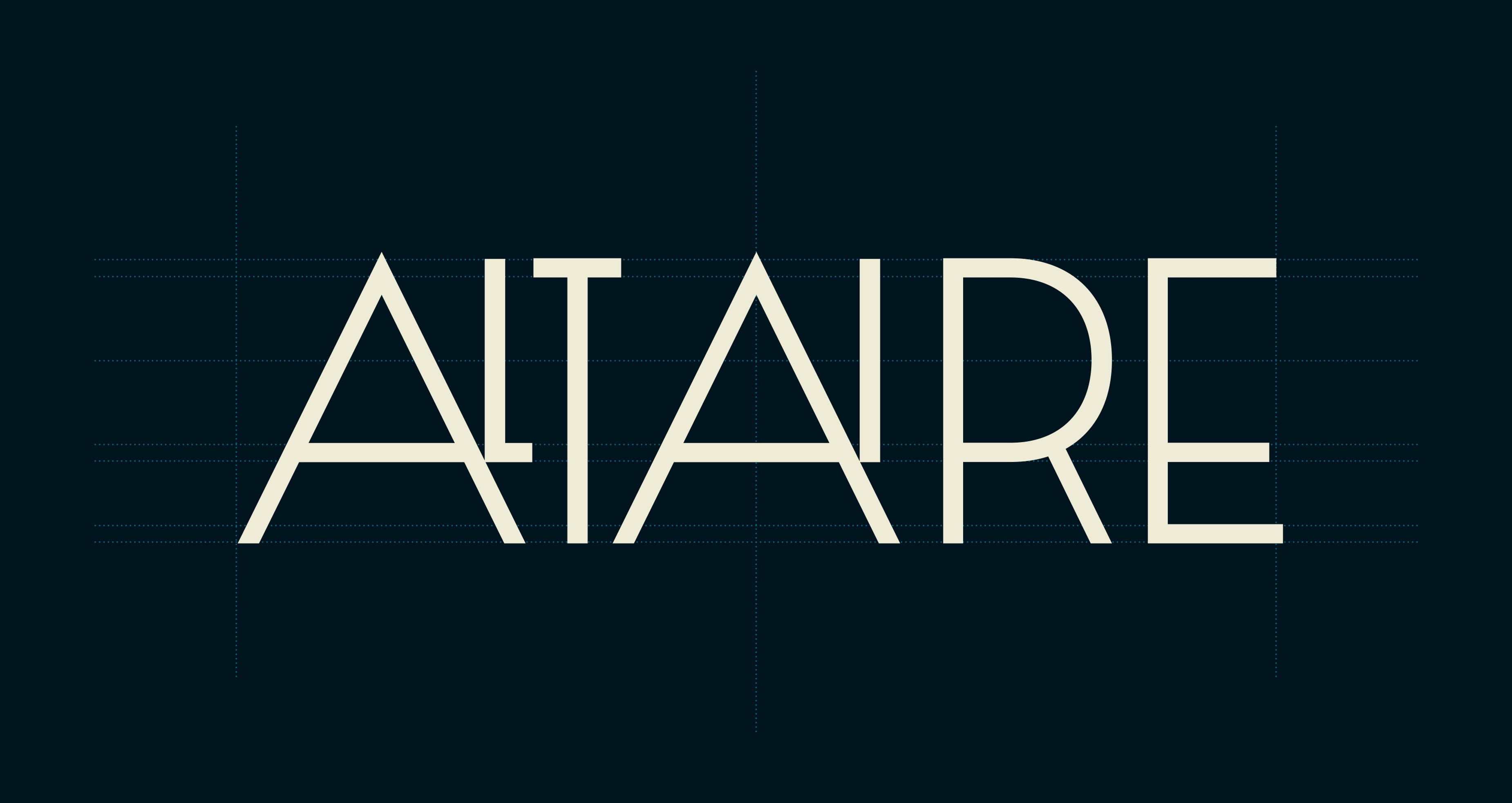 Altaire Logo details Brand Typography Graphic Design Chicago Span02