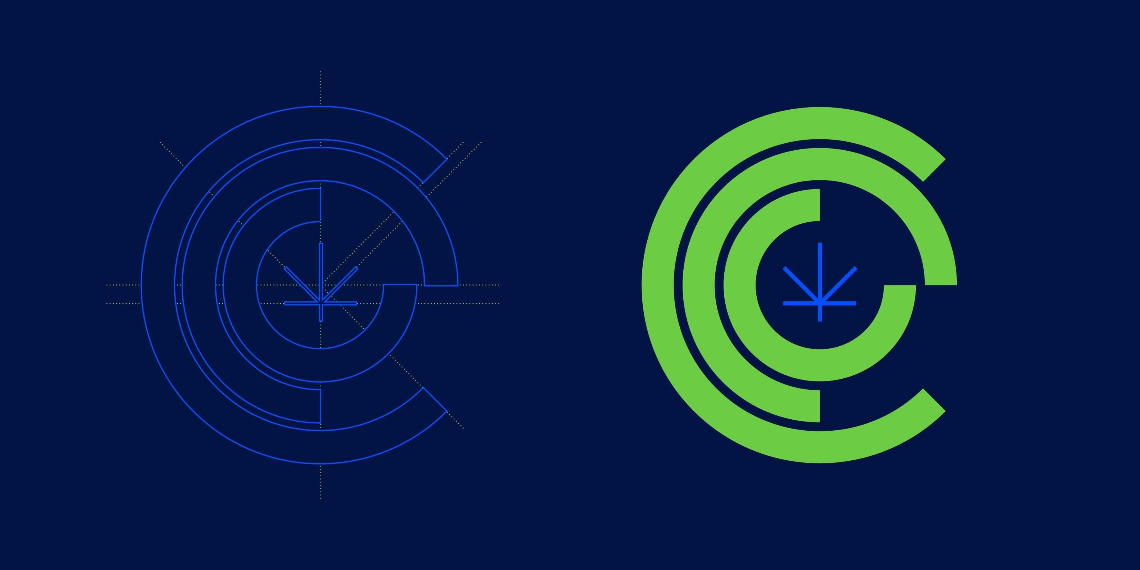 CCC Cannabis logo logic Chicago Graphic Design Span