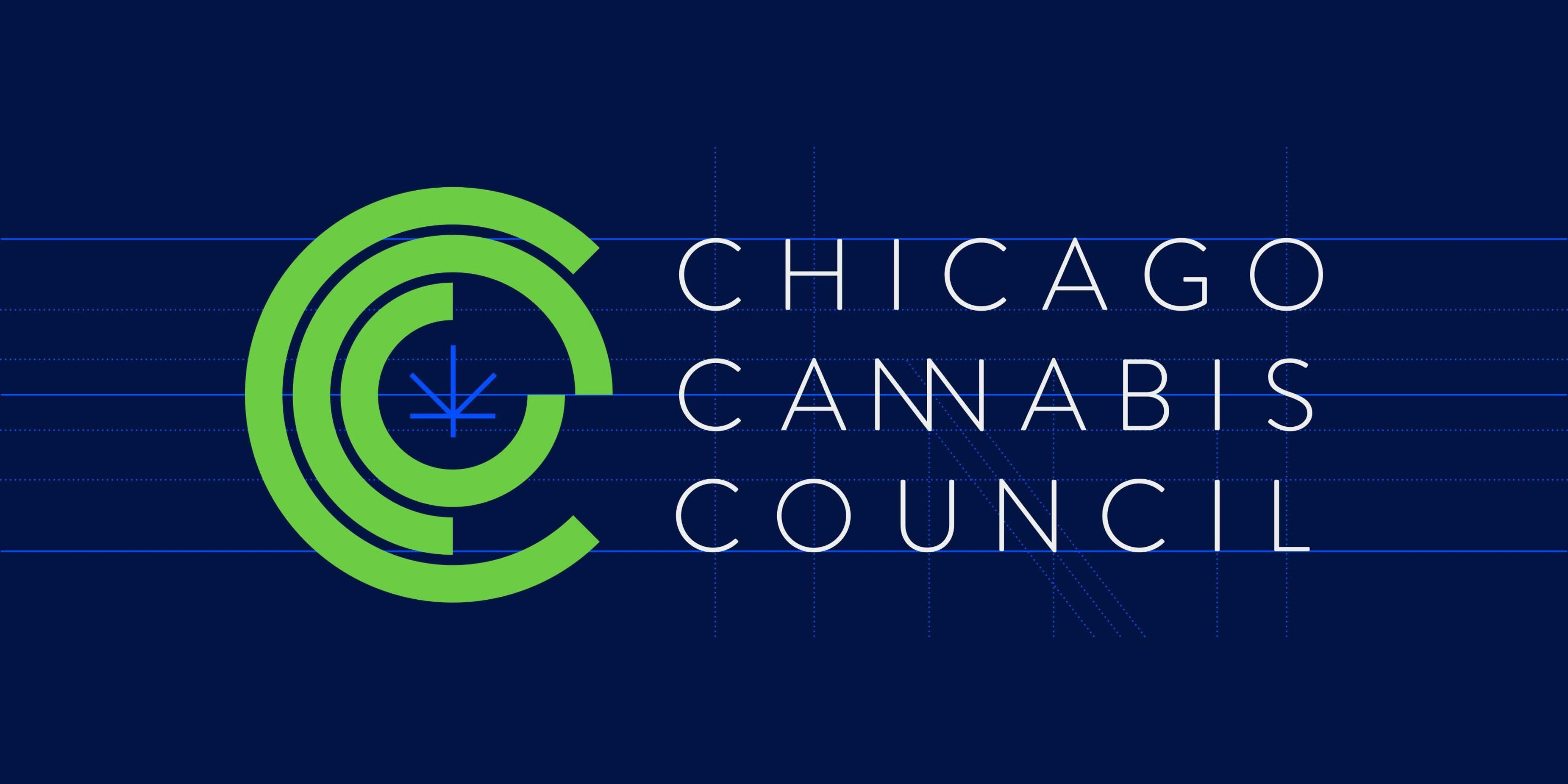 CCC Cannabis logo typography Chicago Graphic Design Span