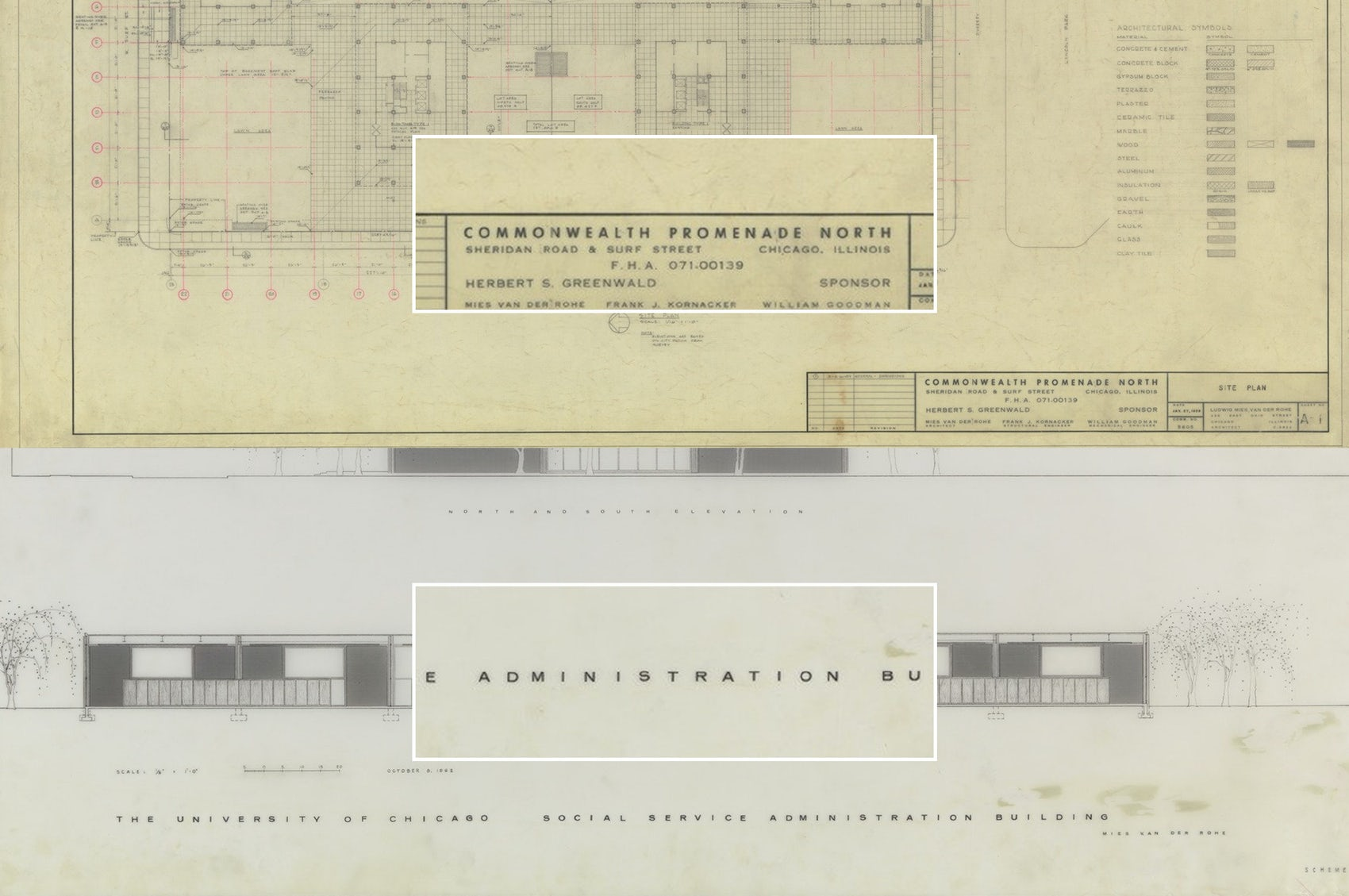 Commonwealth Plaza Architectural Plans