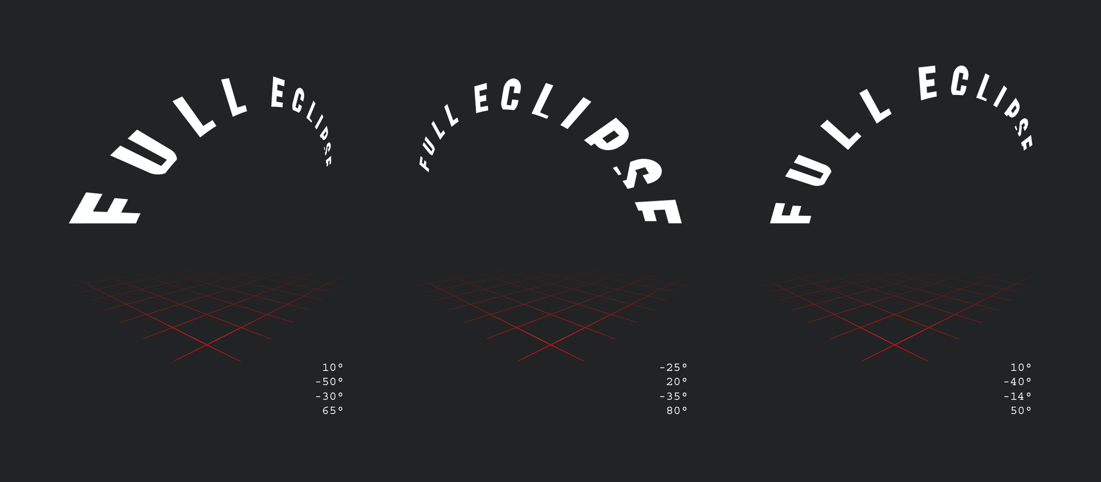 Chicago Design Identity Typography Full Eclipse 5