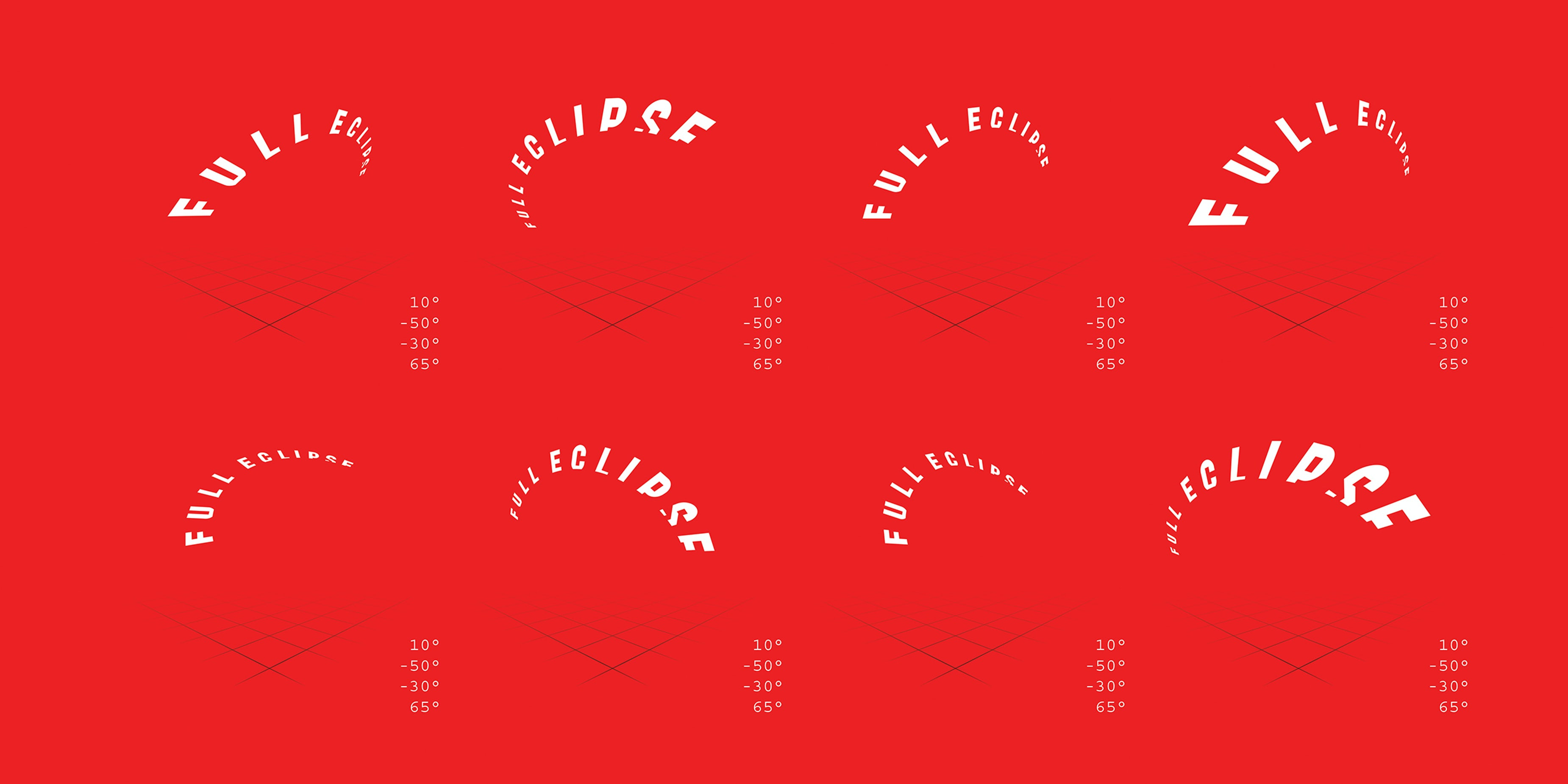 Chicago Design Identity Typography Full Eclipse 6