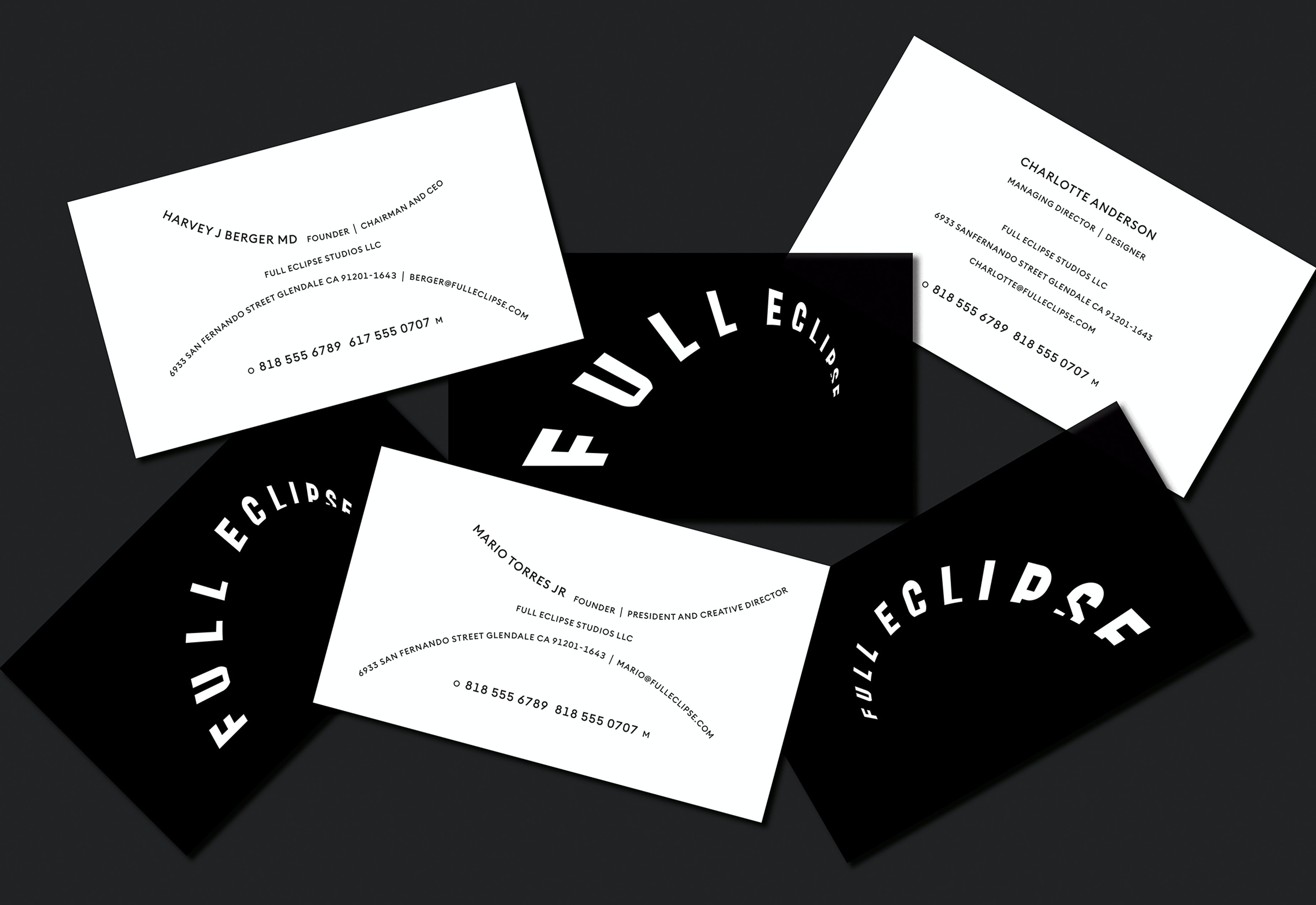 Chicago Design Identity Typography Full Eclipse 8