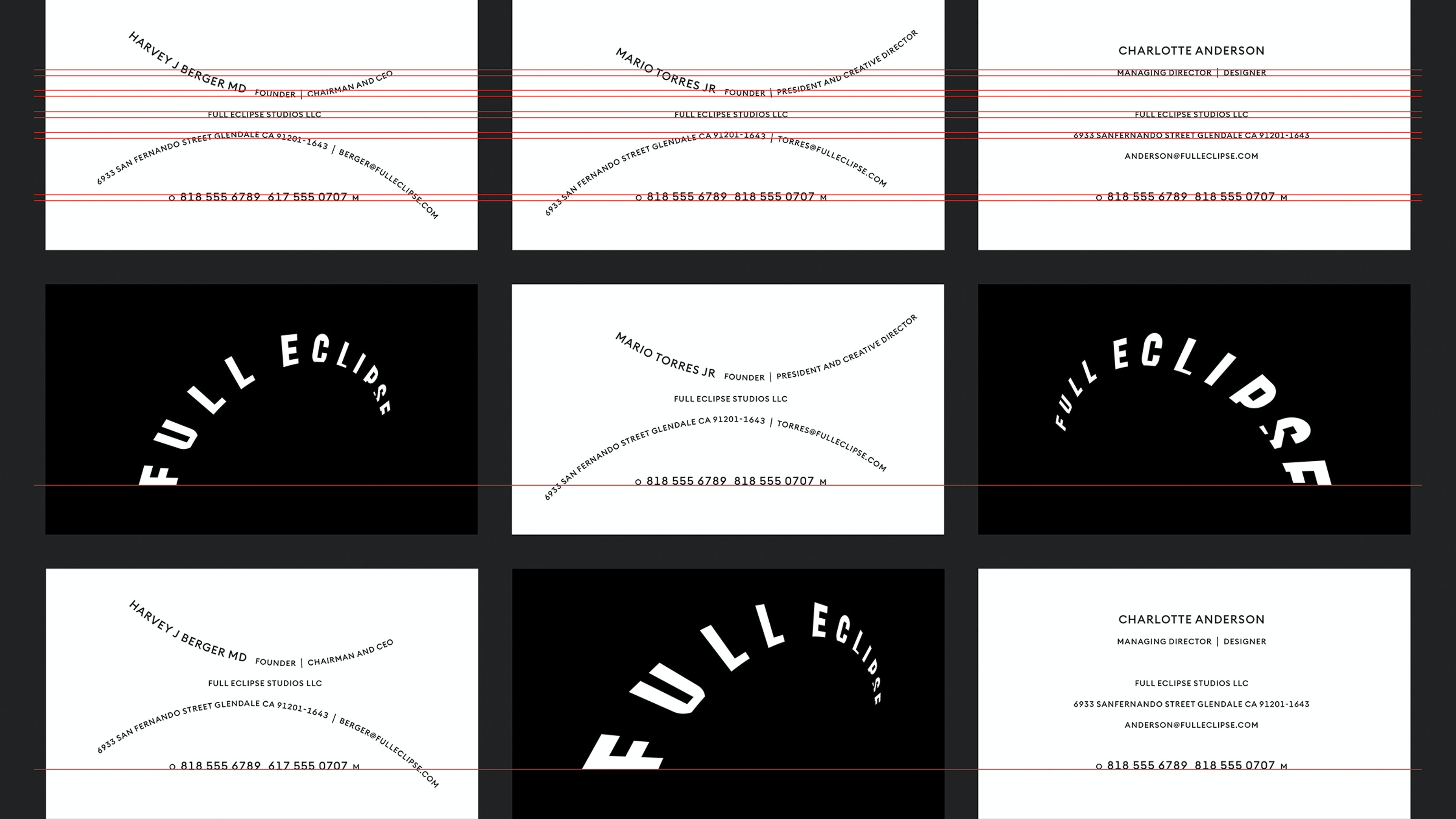 Chicago Design Identity Typography Full Eclipse 9