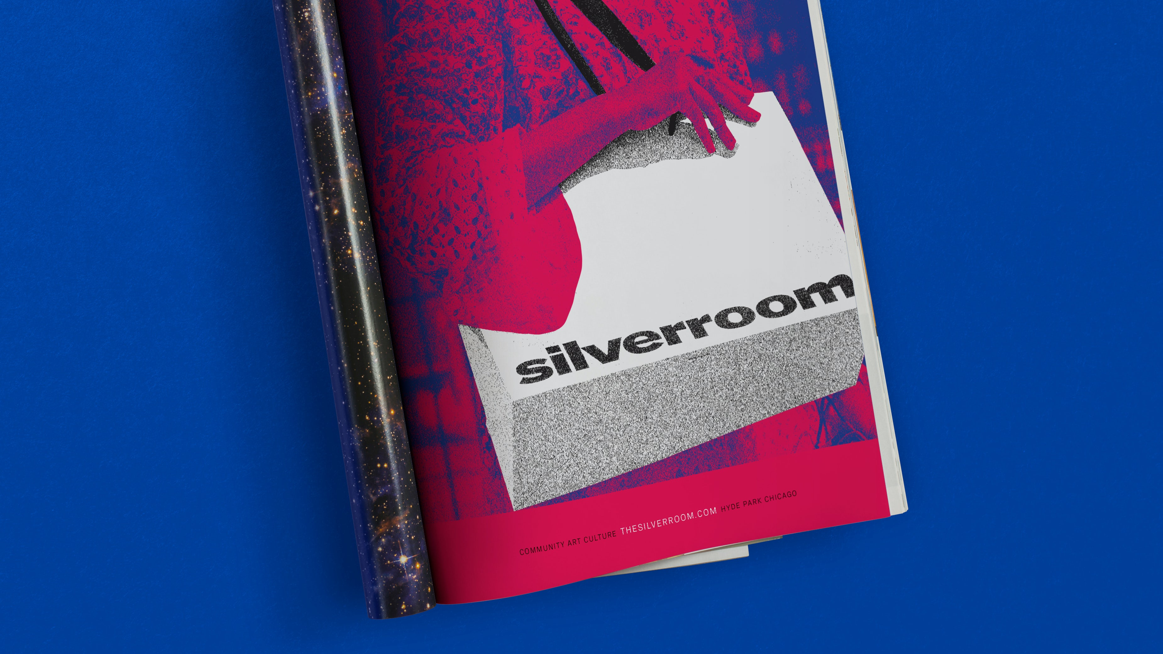 Silverroom Graphic Design Ad Campaign Magazine Fold Typography Span 03
