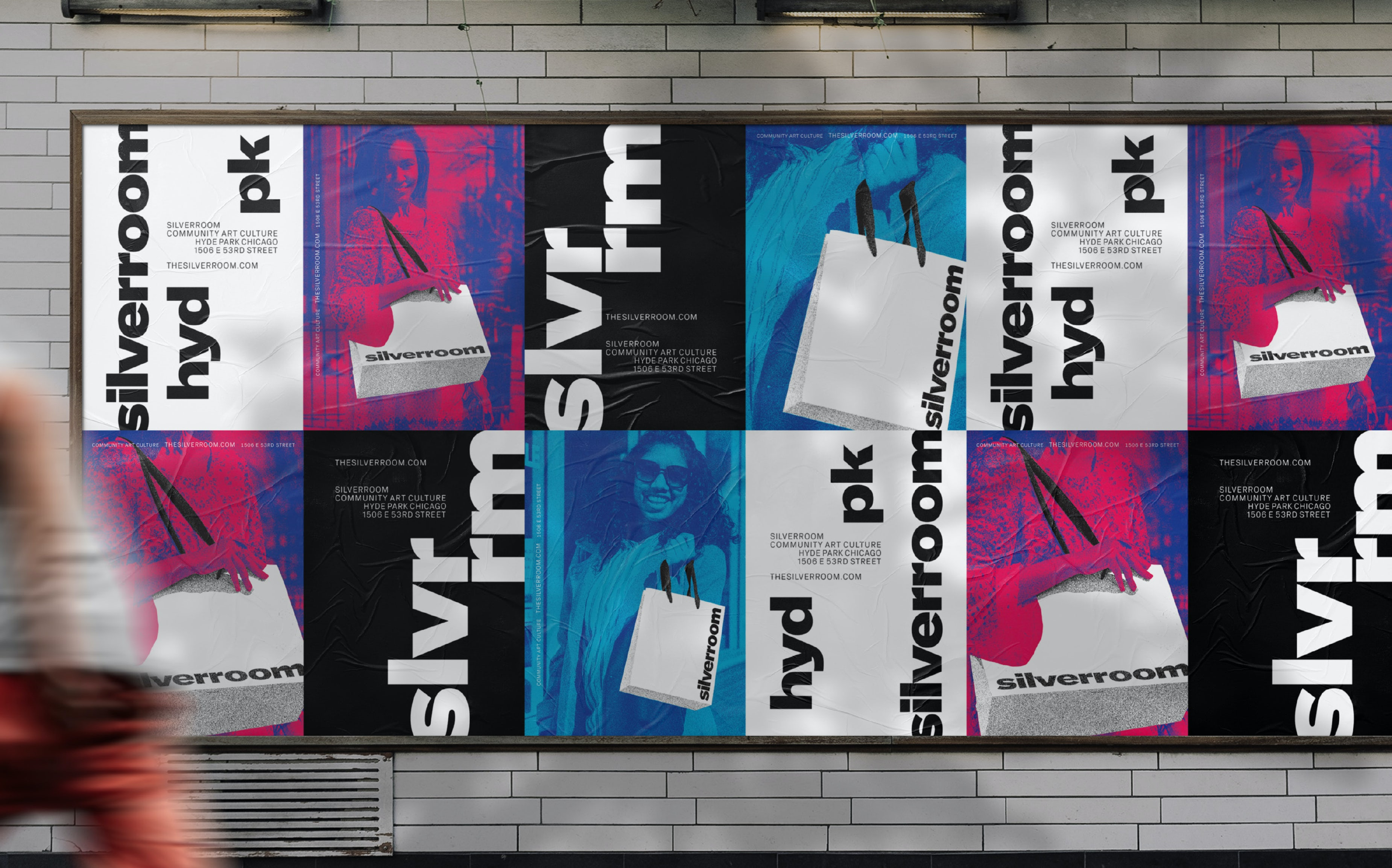 Silverroom Graphic Design Ad Campaign Poster Billboard Typography Span 02