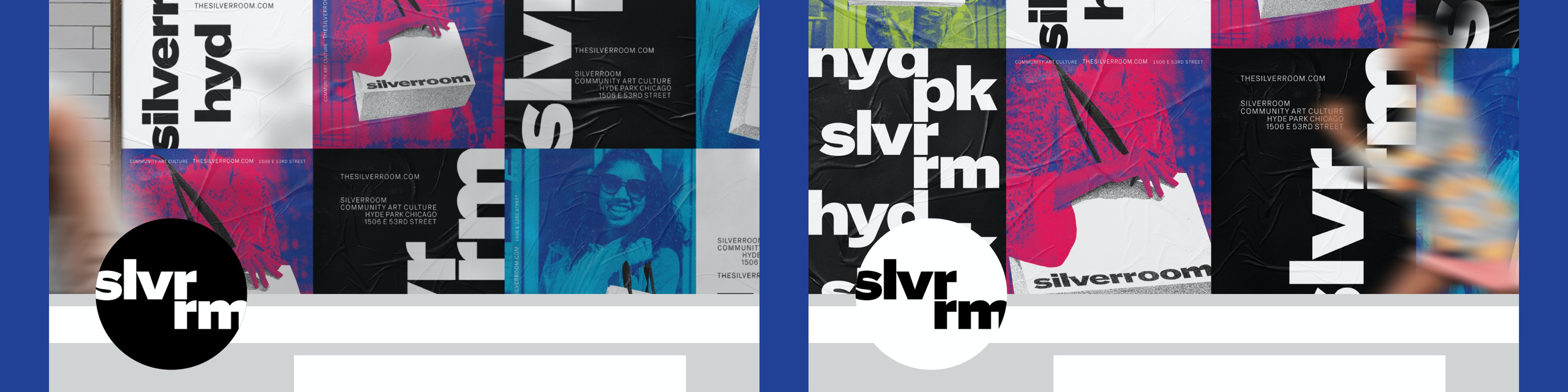 Silverroom Graphic Design Ad Campaign Social Media Header Typography Span 04