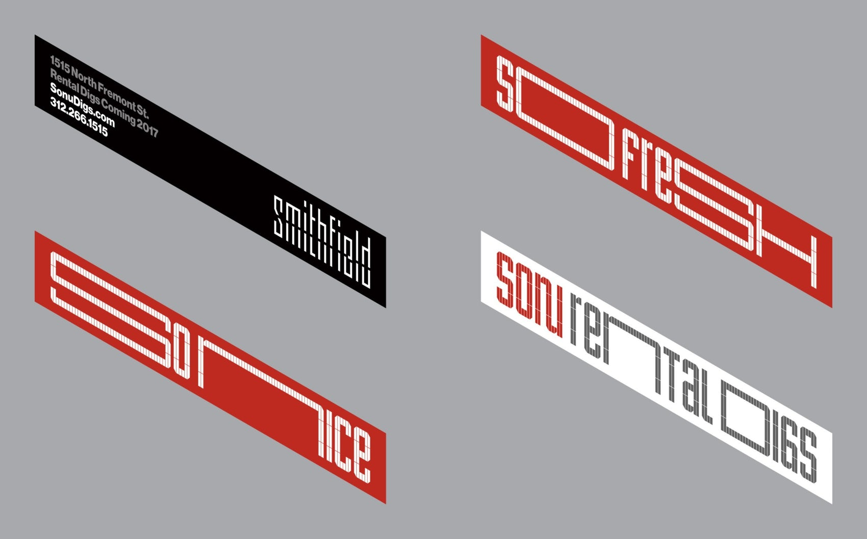 So Nu Graphic Identity Banners 2