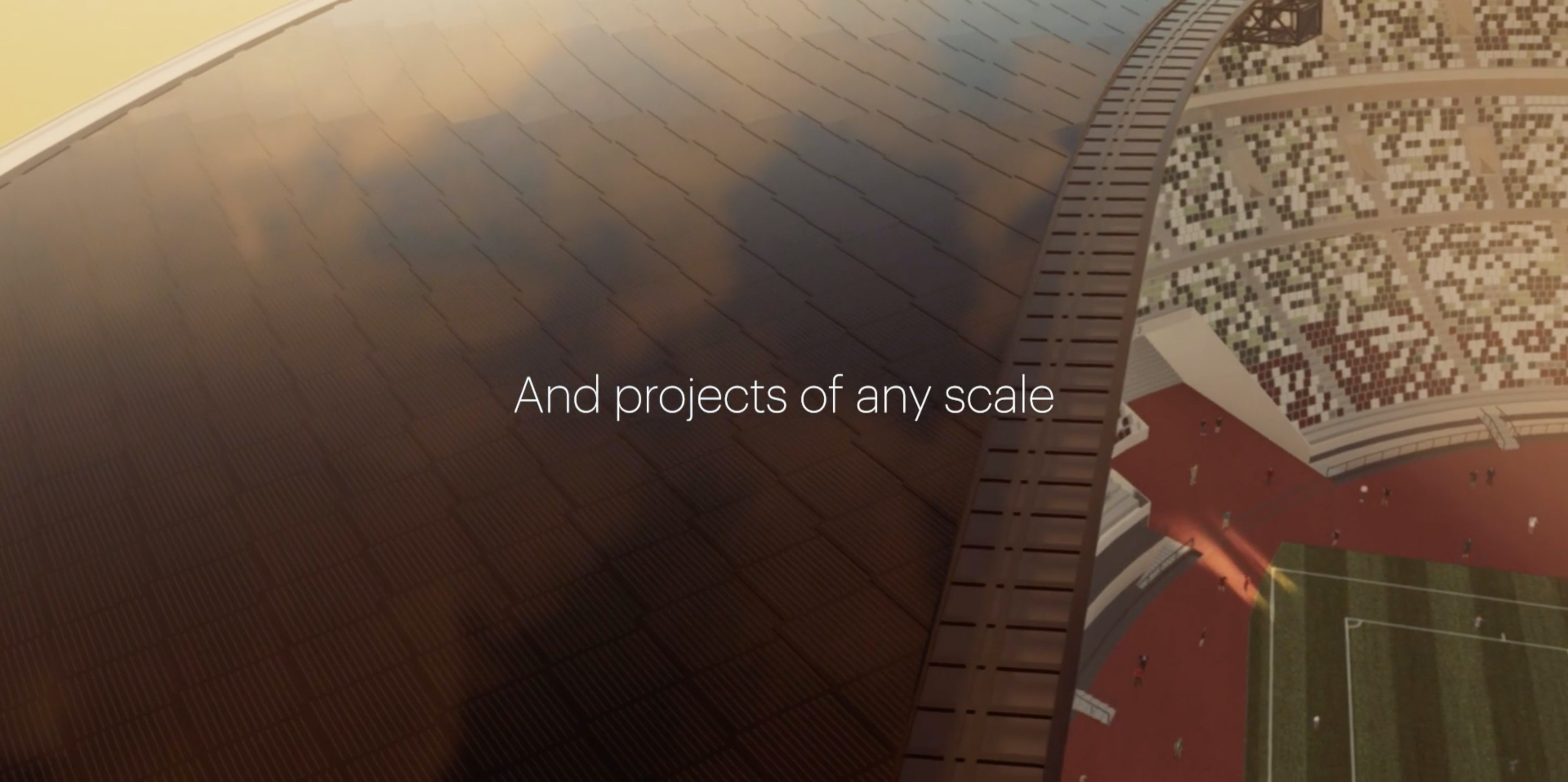 And projects of any scale | Sunstyle USA