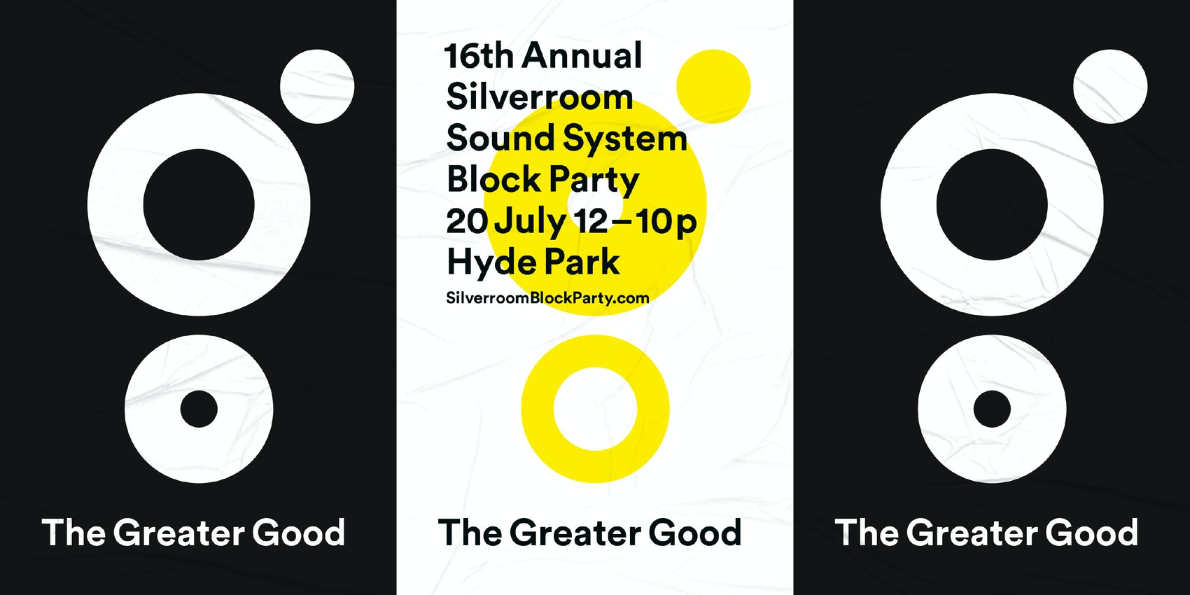 Thirst Design Silverroom Block Party Posters