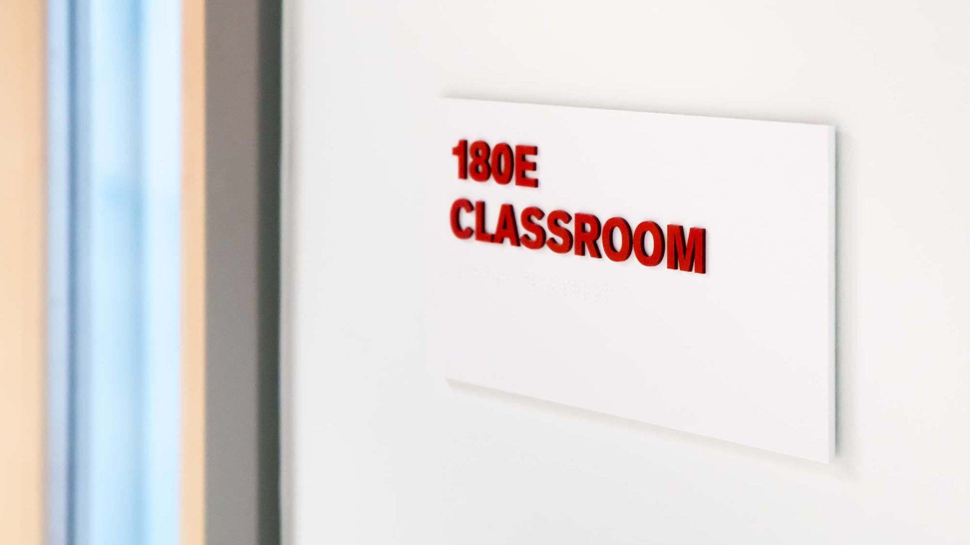 UIC Signage System Room Identification Application